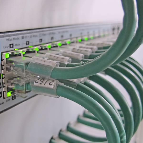 computer cabling and telephone cabling